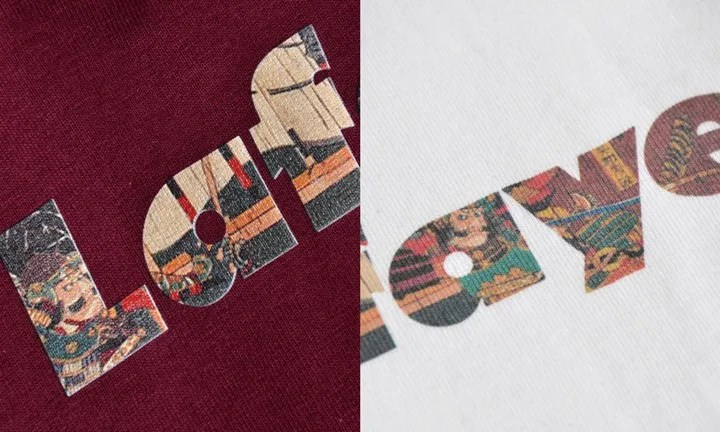 桶狭間の戦いの浮世絵をLOGOに落とし込んだ「BUSHI Lafayette LOGO TEE」が7/30発売! (ラファイエット)