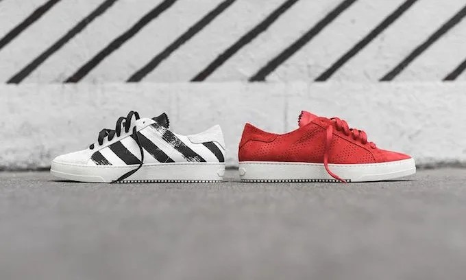 "海外展開!OFF-WHITE C/O VIRGIL ABLOH ""STRIPED SNEAKER"" PACK (オフホワイト)"