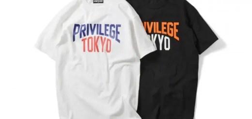 カレッジロゴの東京限定TEEがPRIVILEGE TOKYO限定で8/20に発売!ちなみに新潟も (プリビレッジ)