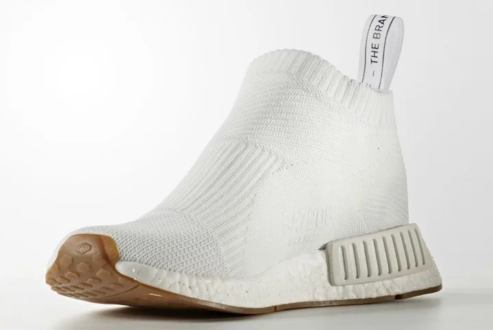 "adidas Originals NMD_CS2 PK ""White/Gum"" {CITY SOCK PRIMEKNIT} (アディダス オリジナルス エヌ エム ディー シティ ソック プライムニット ""ホワイト/ガム"") [BA7208]"