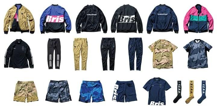 8/27発売!F.C.R.B. 2016-2017 A/W COLLECTION レギュラーアイテム!(2016年 秋冬 regular)