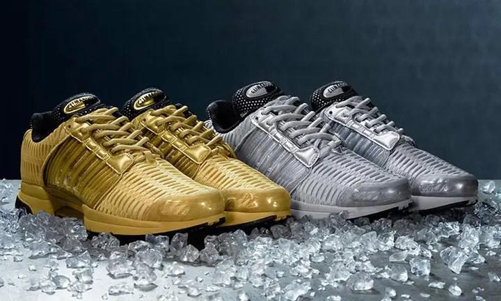 """海外展開!ゴールド/シルバーのアディダス クライマクール 1 """"プレシャス メタル パック"""" (adidas CLIMACOOL 1 """"Precious Metals Pack"""")"""