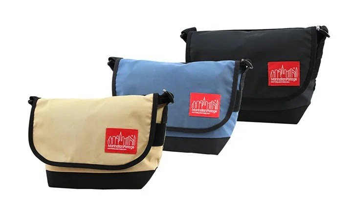 Manhattan Portageから60/40クロス(ロクヨンクロス)素材を使用したシリーズ「60/40 Fabric Casual Messenger Bag」が9/17に発売! (マンハッタンポーテージ)