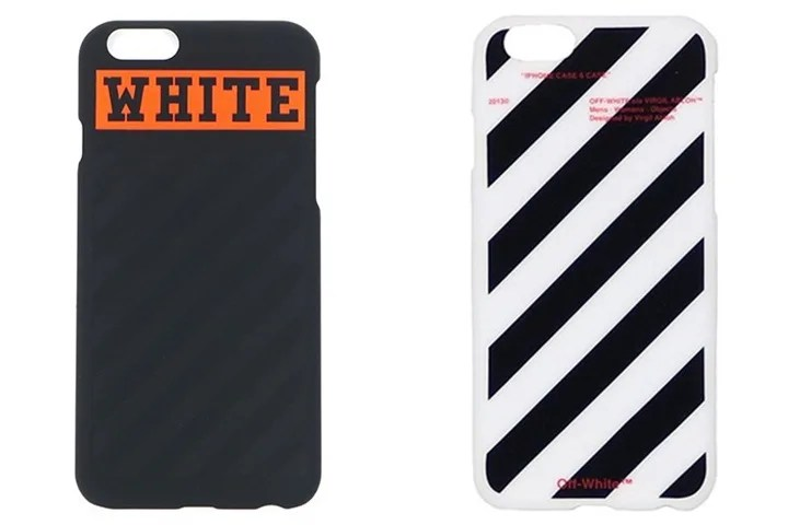 OFF-WHITE C/O VIRGIL ABLOH iPhone 6 CASEが発売! (オフホワイト)