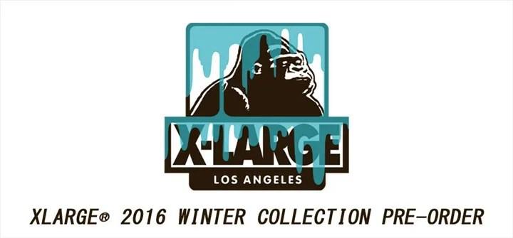X-large 2016 WINTER アイテムの先行予約がスタート! (エクストララージ 2016年 冬モデル)