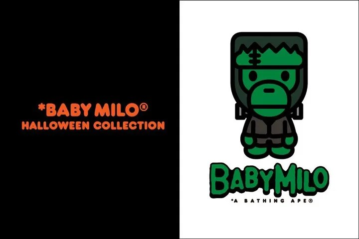 A BATHING APEからMILO × フランケンシュタインに扮したHALLOWEEN COLLECTIONが10/15から発売! (ア ベイシング エイプ ハロウィン コレクション)