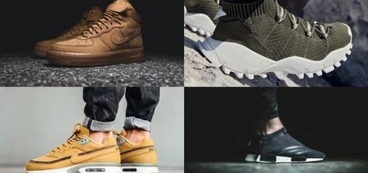 """【まとめ】10/27発売の厳選スニーカー!(NIKE AIR FORCE 1 HIGH """"FLAX"""" 2016)(AIR MAX BW """"Bronze/Flux"""")(adidas Originals by White Mountaineering 2016 F/W NMD_CS1 SEEULATER FORUM MID)他"""