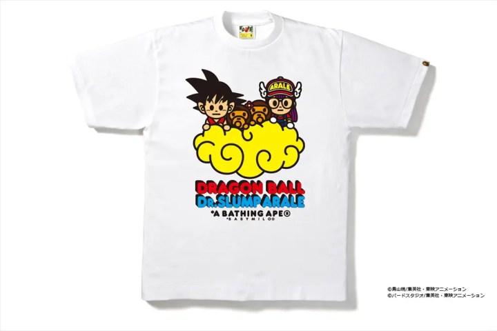 A BATHING APE x ドラゴンボール + Dr.スランプ アラレちゃんのコラボTEEが限定店舗にて11/1から発売! (ア ベイシング エイプ DRAGON BALL Dr. SLUMP ARALE