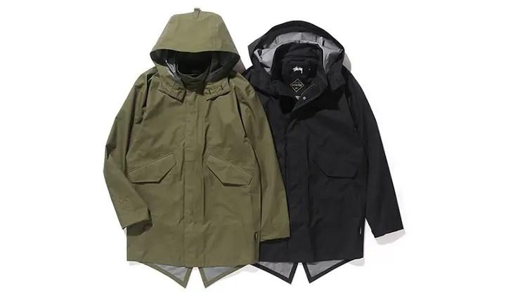 STUSSY GORE-TEX Products Fishtail Jacketが11/4から発売! (ステューシー ゴアテックス)