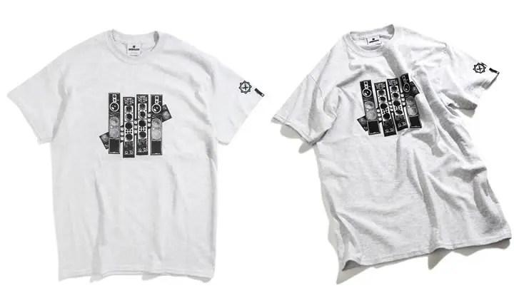 UNDEFEATED × JAPAN BEATBOX CHAMPIONSHIP Tee {JBC} (アンディフィーテッド ジャパン ビートボックス チャンピオンシップ)
