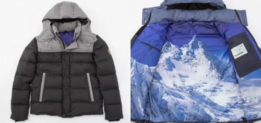 裏地にヒマラヤ山脈を大胆にデザインしたポールワーズ ダウンジャケットが西武・そごう限定発売! (POLEWARDS)