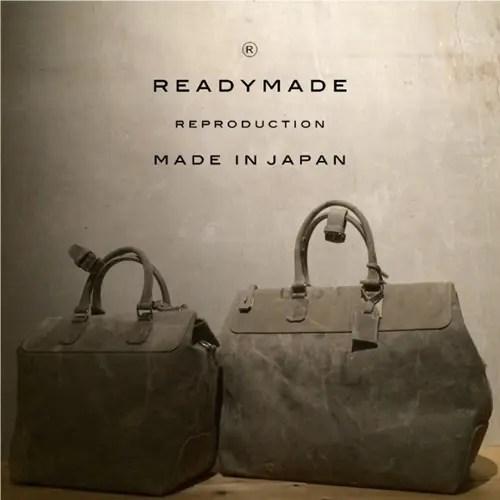 READYMADE新作!アメリカの郵便局で使用されていたビンテージのバッグを解体し再構築した「GYM BAG」2モデルが11/23発売! (レディーメイド)