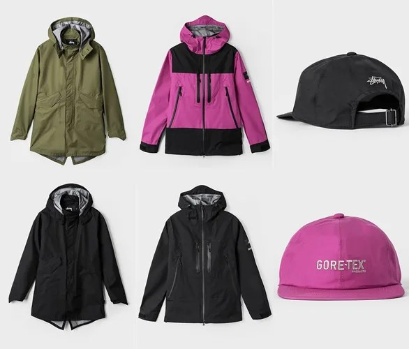 STUSSY GORE-TEX PRODUCTS 2016 HOLIDAY COLLECTIONが11/25発売! (ステューシー ゴアテックス プロダクツ 2016年 ホリデー コレクション)