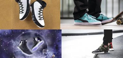 """【まとめ】12/3発売の厳選スニーカー!(NIKE AIR JORDAN 9 OG """"White/Black"""")(adidas Originals NMD_XR1 """"DUCK CAMO"""")(DIAMOND SUPPLY CO. PUMA CLYDE """"TIFFANY"""")(NIKE AIR JORDAN 1 RETRO HIGH ULTRA """"Space Jam"""")他"""