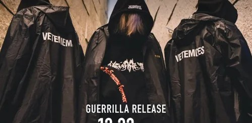 """NUBIANにて""""VETEMENTS (ヴェトモン)""""がパロディーを公認した最注目新鋭ブランド""""VETEMEMES (ヴェトミームス)""""との別注アイテムが12/23ゲリラリリース!"""