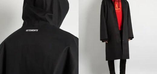 VETEMENTS × MACKINTOSH oversized raincoatが発売中! (ヴェトモン マッキントッシュ)