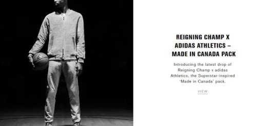 """REIGNING CHAMP × adidas ATHLETICS """"MADE IN CANADA PACK""""が1/12発売! (レイニング チャンプ アディダス """"メイド イン カナダ パック"""")"""