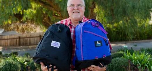 GREGORY 40周年を記念して紫タグと青文字タグの記念モデルが3/18発売! (グレゴリー)