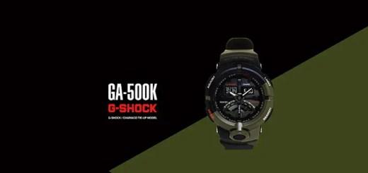 2/9発売!CHARI&CO × G-SHOCK GA-500K (チャリアンドコー Gショック ジーショック)
