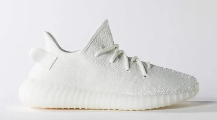 """【オフィシャルイメージ】アディダス オリジナルス イージー 350 ブースト V2 """"コア ホワイト"""" (adidas Originals YEEZY 350 BOOST V2 """"Core White"""") [CP9366]"""