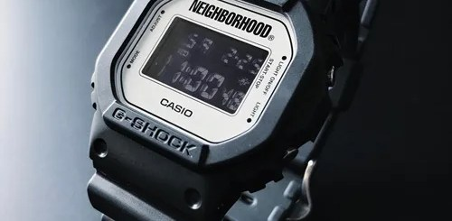3/3博多先行発売!G-SHOCK × NEIGHBORHOOD NHGS. DW-5600 (Gショック ネイバーフッド)