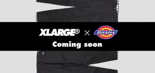 X-largeとDickiesのコラボ パンツが近日発売 (エクストララージ ディッキーズ)