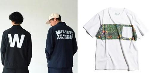 White Mountaineering × green label relaxing 別注!コーチジャケット/TEEが4月上旬~発売! (ホワイト マウンテニアリング グリーンレーベル リラクシング)