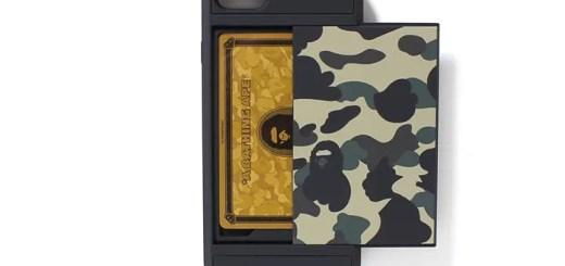 A BATHING APEからカード収納機能が付いたiPhone7/7 PLUS用ケースが4/29発売 (ア ベイシング エイプ アイフォン)