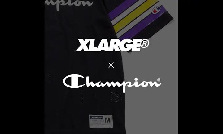 X-large × Champion コラボが登場!? (エクストララージ チャンピオン)