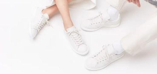 """5/3発売!SNS × adidas Originals STAN SMITH BOOST/SUPERSTAR BOOST """"Shades of White V2 pack"""" (アディダス オリジナルス スタンスミス/スーパースター ブースト """"シャドウ オブ ホワイト V2 パック"""") [BY2281,2284]"""