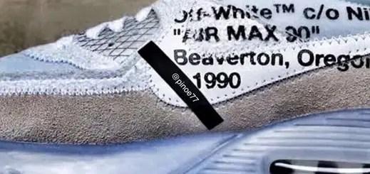 【真偽不明リーク】OFF-WHITE c/o VIRGIL ABLOH × NIKE AIR MAX 90 (オフホワイト ナイキ エア マックス 90)