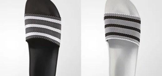 バンドアッパーにプライムニットを採用したアディダス オリジナルス アディレッタ (adidas Originals ADILETTE PRIMEKNIT {PK}) [BB0118,0119]