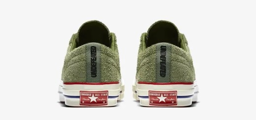 "UNDEFEATED x CONVERSE ONE STAR ""Capulet Olive"" (アンディフィーテッド コンバース ワンスター ""オリーブ"") [158894C-371]"