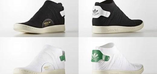 7月発売予定!アディダス オリジナルス スタンスミス ソック プライムニット 2カラー (adidas Originals STAN SMITH SOCK PRIMEKNIT {PK}) [BY9251,9252]