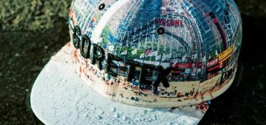 New EraからGORE-TEXを使用しニューヨークのルナ・パーク遊園地前のビーチ写真をプリントしたアイテムが発売 (ニューエラ)