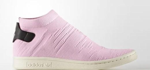 """アディダス オリジナルス スタンスミス ソック プライムニット """"ピンク"""" (adidas Originals STAN SMITH SOCK PRIMEKNIT {PK} """"Pink"""") [BY9250]"""