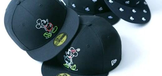 New Era × Disney コラボ!ミッキーマウスとミニーマウスをネオンサイン、ミニロゴ、モノグラムの刺繍で表現した「59FIFTY」が発売 (ニューエラ ディズニー)