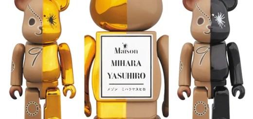 左右で真っ二つ!メゾン ミハラヤスヒロ × ベアブリック コラボ 2サイズが6/10発売! (Maison MIHARA YASUHIRO BE@RBRICK)