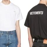 VETEMENTS BASIC TEE (ヴェトモン ベーシック TEE)