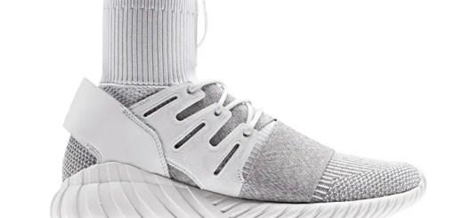 """6月発売!adidas Originals TUBULAR DOOM PRIMEKNIT {PK} """"White/Clear Grey"""" (アディダス オリジナルス チュブラー ドゥーム プライムニット """"ホワイト/クリア グレー"""") [BY3553]"""