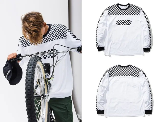 UNDEFEATED FINISH LINE LS JERSEY (アンディフィーテッド フィニッシュ ライン ロングスリーブ ジャージー)