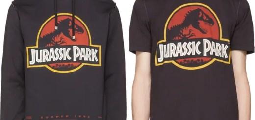 ジュラシック・パークのグラフィックを採用したドルチェ&ガッバーナ フーディー/TEE (Jurassic Park Dolce & Gabbana)