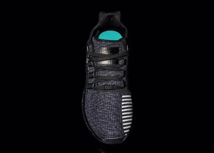 """11/24 ブラックフライデーにリリースか?アディダス オリジナルス エキップメント サポート 93/17 ブースト """"トリプル ブラック"""" (adidas Originals EQT SUPPORT 93/17 BOOST """"Triple Black"""")"""