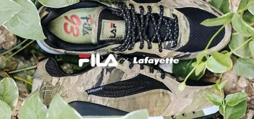"Lafayette × FILA ""93 Overpass Pack""が海外で6/24から発売!(ラファイエット フィラ)"