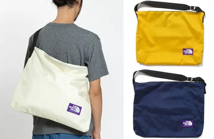 7b34fb65c0 ザ・ノースフェイス パープル レーベルからナイロンオックス生地を使ったショルダーバッグが発売 (THE NORTH FACE PURPLE LABEL  Shoulder Bag)