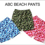 A BATHING APEからプールやリゾートでのビーチパンツとしても活躍するビーチパンツ「ABC BEACH PANTS」が6/24発売 (ア ベイシング エイプ)