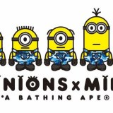 A BATHING APE x Minions コラボが近日展開予定 (ア ベイシング エイプ ミニオンズ)