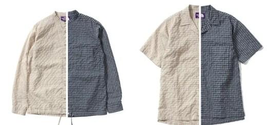 ザ・ノースフェイス パープル レーベルからコットンリネンとポリエステル糸を使用したジャケット/HS シャツが発売 (THE NORTH FACE PURPLE LABEL Polyester Linen)