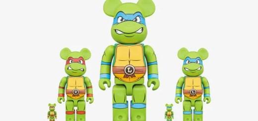 【7/10まで受注】ティーンエイジ・ミュータント・ニンジャ・タートルズ ベアブリック 100% 400% 1000% (Teenage Mutant Ninja Turtles BE@RBRICK)