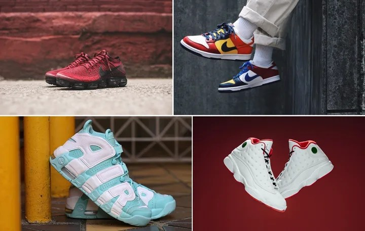 "【まとめ】7/22発売の厳選スニーカー!(NIKE DUNK LOW JP ""WHAT THE BE TRUE TO YOUR SCHOOL"")(AIR JORDAN 13 RETRO ""HISTORY OF FLIGHT"")(AIR VAPORMAX FLYKNIT)(WMNS AIR MORE UPTEMPO ""Island Green"")"